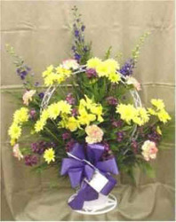 Sympathy Basket from Clark Flower and Gift Shop in Clark, SD