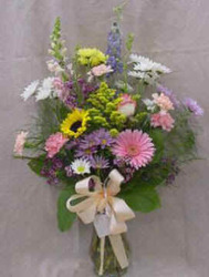 Pastel Mix Vase Arrangement from Clark Flower and Gift Shop in Clark, SD