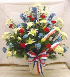 Patriotic Tribute from Clark Flower and Gift Shop in Clark, SD