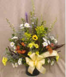 Natural Wildflower Look from Clark Flower and Gift Shop in Clark, SD