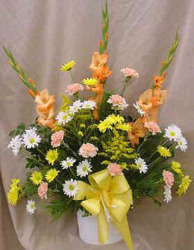 Traditional Sympathy Bouquet from Clark Flower and Gift Shop in Clark, SD