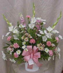 Pink & White Bouquet from Clark Flower and Gift Shop in Clark, SD