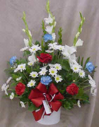 Red, White, & Blue from Clark Flower and Gift Shop in Clark, SD
