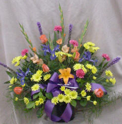 Brightly Colored Bouquet from Clark Flower and Gift Shop in Clark, SD