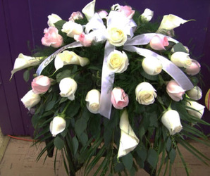 Elegant Tribute Casket Spray from Clark Flower and Gift Shop in Clark, SD