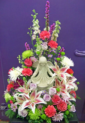 Garden of Comfort Urn Tribute from Clark Flower and Gift Shop in Clark, SD