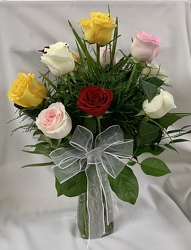 Dozen Roses from Clark Flower and Gift Shop in Clark, SD