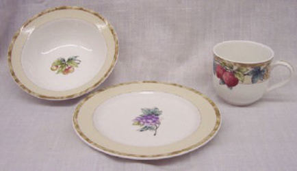 Noritake Sonoma Gardens 7936 Cereal Dessert Plate Mug Sale from Clark Flower and Gift Shop in Clark, SD