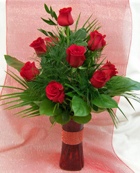 Dozen Red Roses from Clark Flower and Gift Shop in Clark, SD