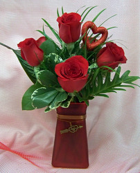 Roses are Red My Love from Clark Flower and Gift Shop in Clark, SD